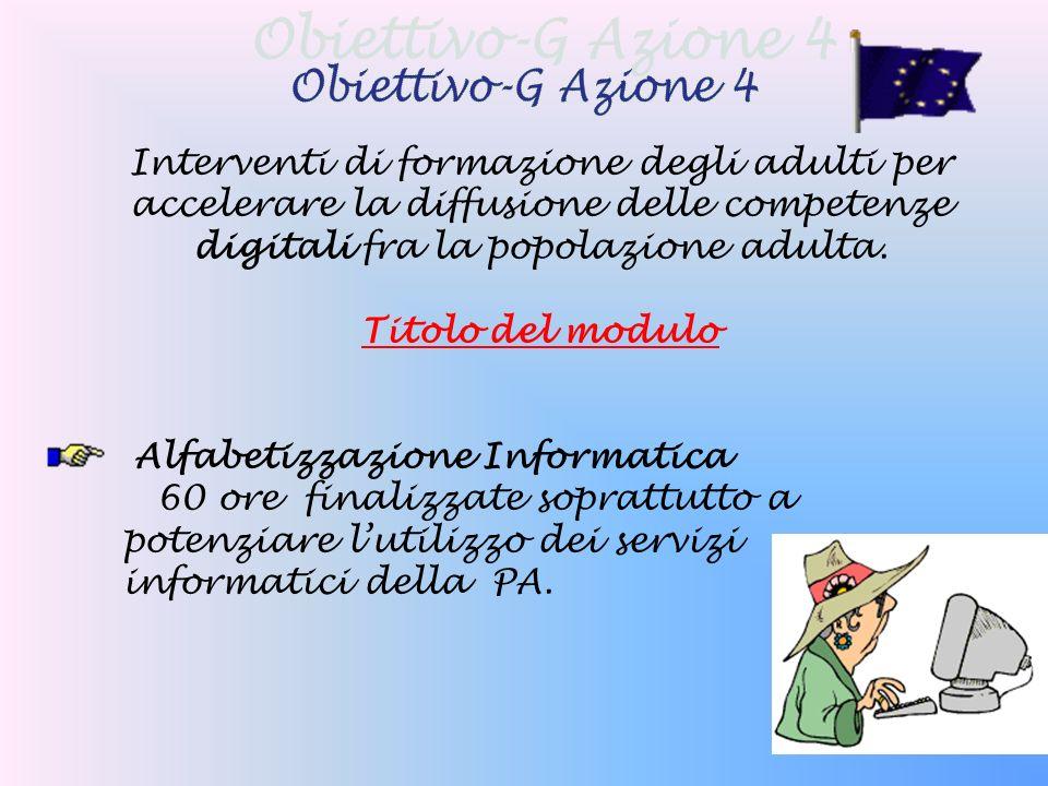 Interventi di formazione degli adulti per accelerare la diffusione delle competenze digitali fra la popolazione adulta.