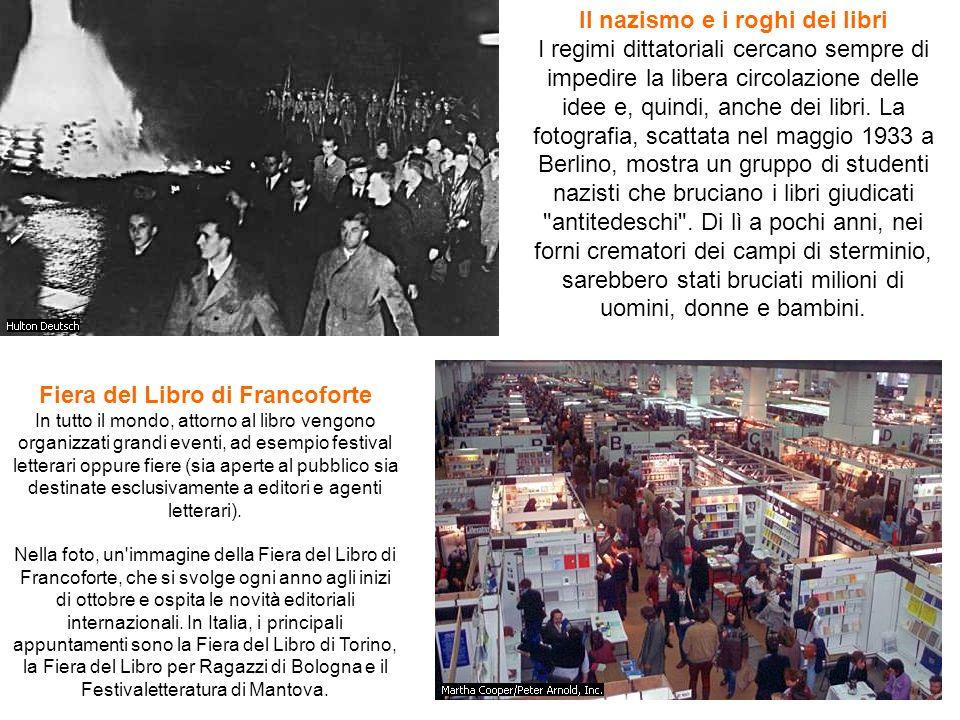 Il nazismo e i roghi dei libri I regimi dittatoriali cercano sempre di impedire la libera circolazione delle idee e, quindi, anche dei libri. La fotog