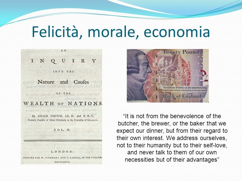 «precisamente il contrario del principio della moralità ha luogo se viene fatto motivo determinante della volontà il principio della propria felicità» perché «essa distruggerebbe affatto la moralità» Kant