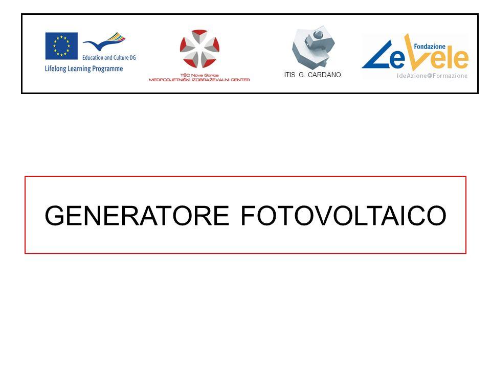 GENERATORE FOTOVOLTAICO ITIS G. CARDANO