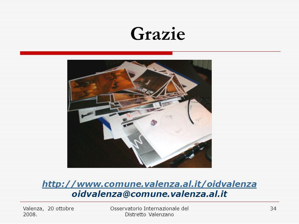 Valenza, 20 ottobre 2008.