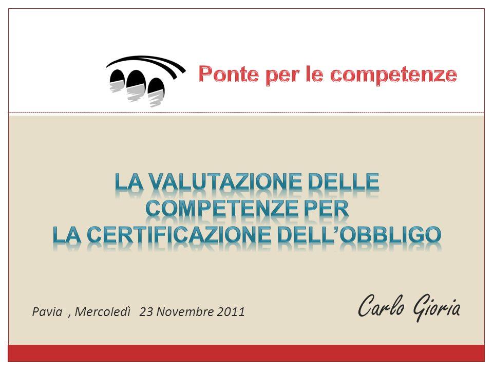 Carlo Gioria Pavia, Mercoledì 23 Novembre 2011