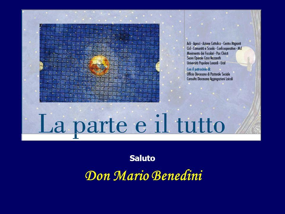 Saluto Don Mario Benedini