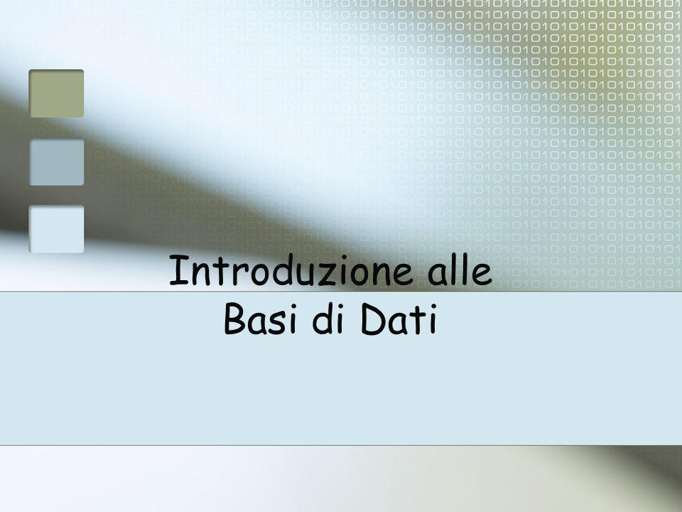 Funzioni per: definizione della base di dati inserimento / rimozione /aggiornamento di informazioni deve soddisfare i vincoli.