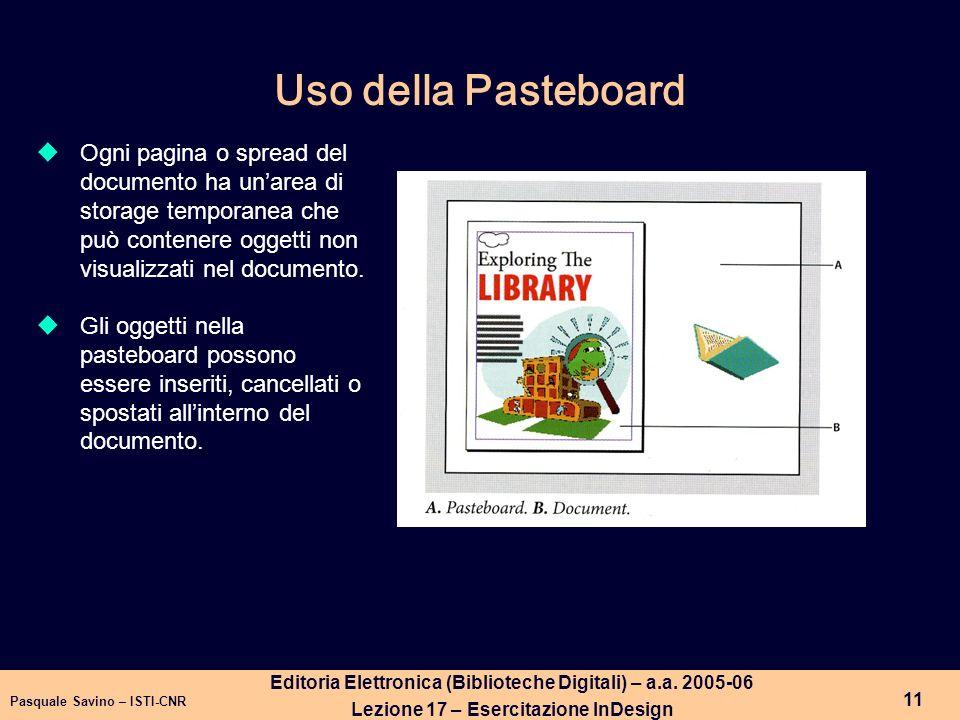 Pasquale Savino – ISTI-CNR 12 Editoria Elettronica (Biblioteche Digitali) – a.a.