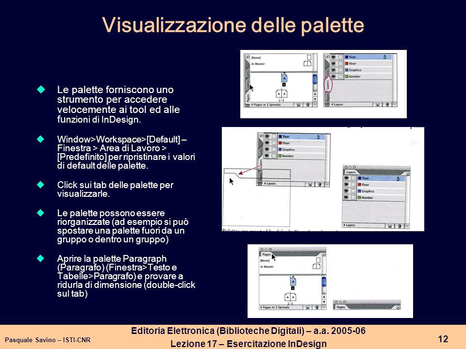 Pasquale Savino – ISTI-CNR 13 Editoria Elettronica (Biblioteche Digitali) – a.a.