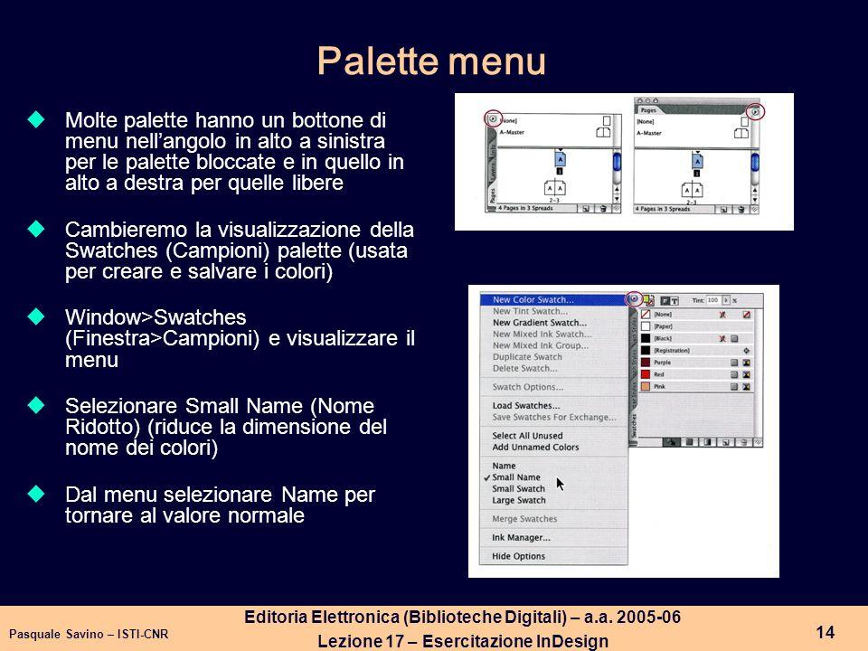 Pasquale Savino – ISTI-CNR 15 Editoria Elettronica (Biblioteche Digitali) – a.a.