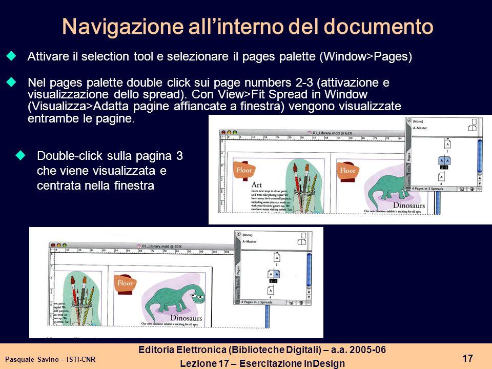 Pasquale Savino – ISTI-CNR 18 Editoria Elettronica (Biblioteche Digitali) – a.a.