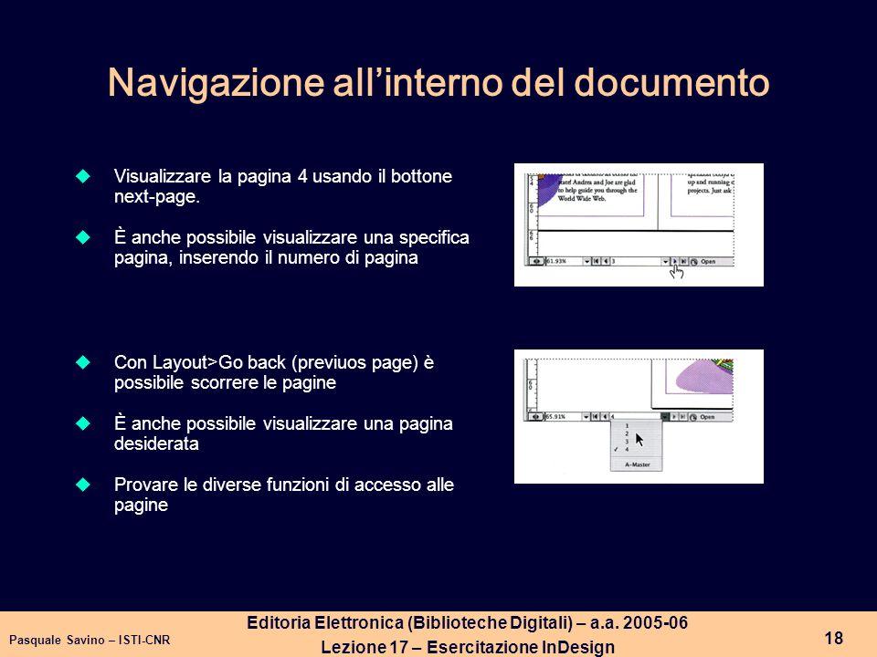 Pasquale Savino – ISTI-CNR 19 Editoria Elettronica (Biblioteche Digitali) – a.a.