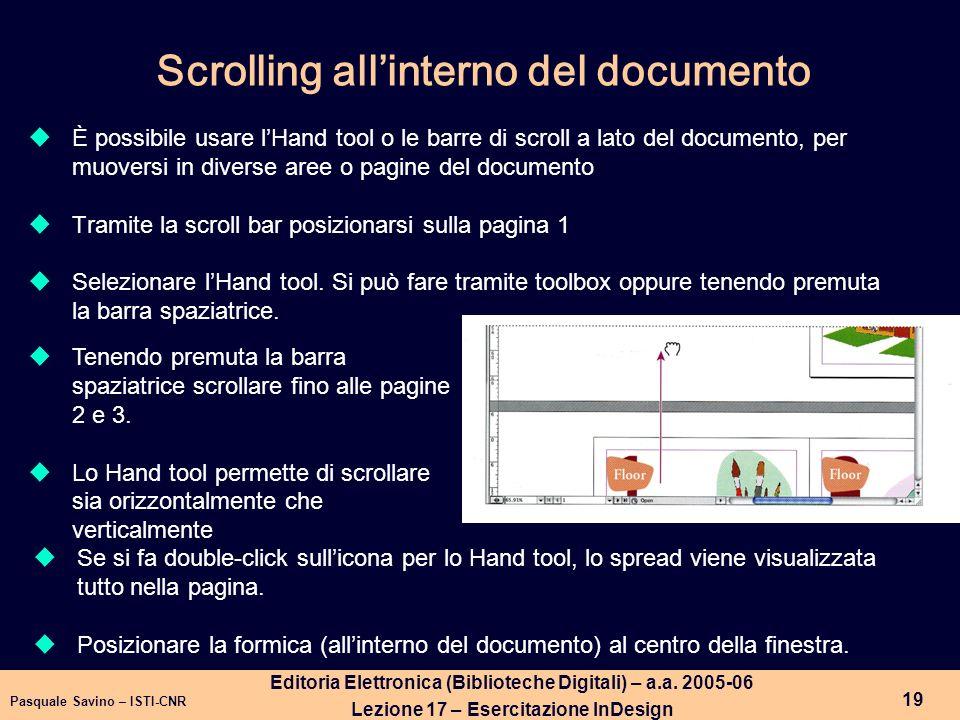 Pasquale Savino – ISTI-CNR 20 Editoria Elettronica (Biblioteche Digitali) – a.a.