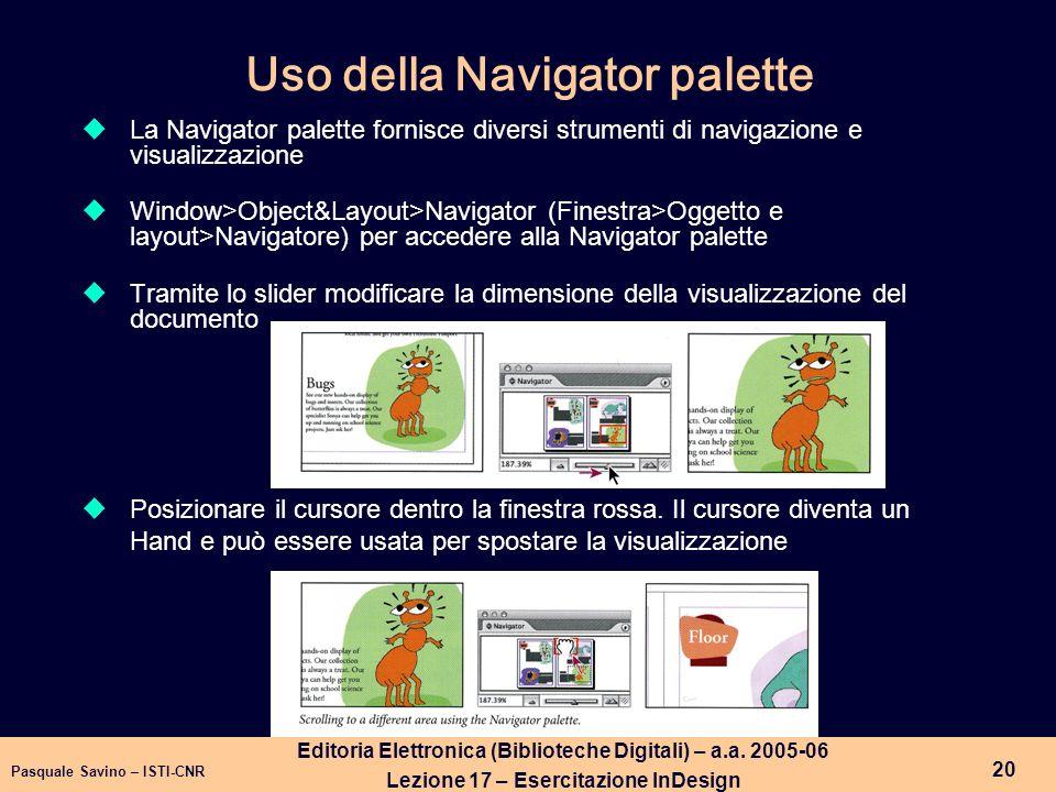 Pasquale Savino – ISTI-CNR 21 Editoria Elettronica (Biblioteche Digitali) – a.a.