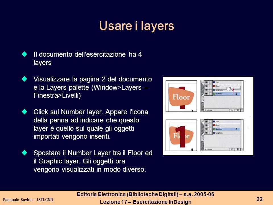 Pasquale Savino – ISTI-CNR 23 Editoria Elettronica (Biblioteche Digitali) – a.a.