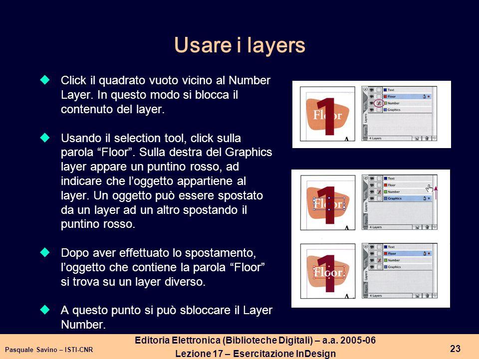 Pasquale Savino – ISTI-CNR 24 Editoria Elettronica (Biblioteche Digitali) – a.a.