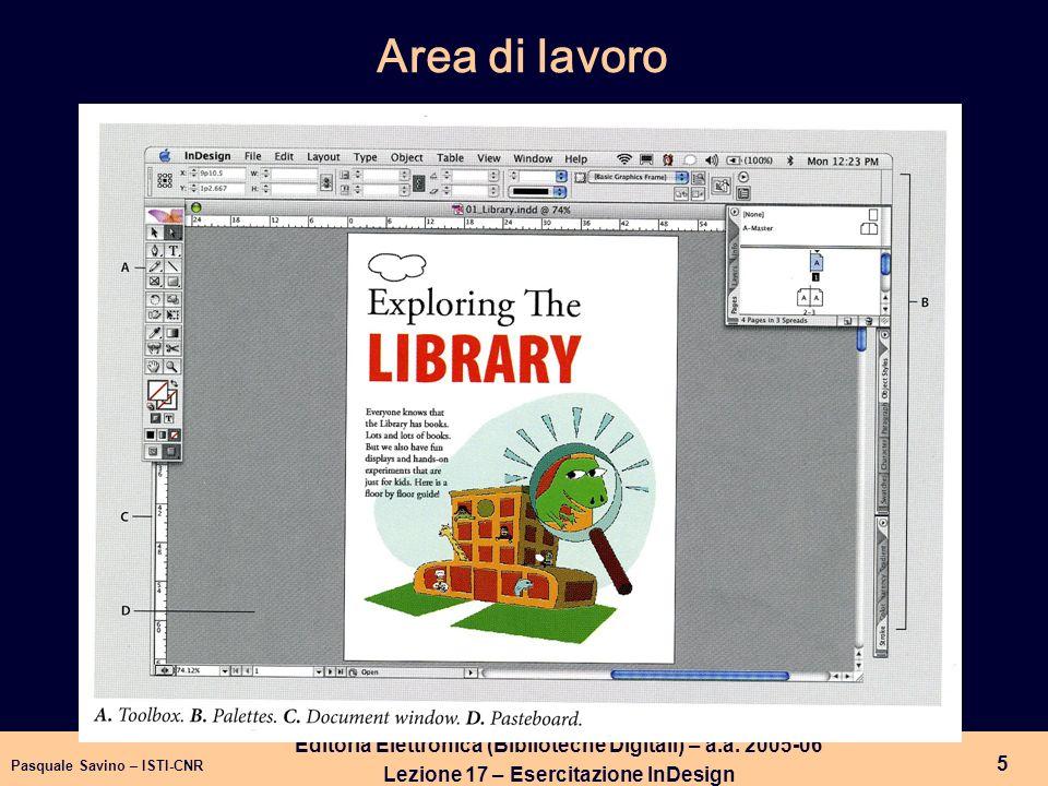 Pasquale Savino – ISTI-CNR 6 Editoria Elettronica (Biblioteche Digitali) – a.a.