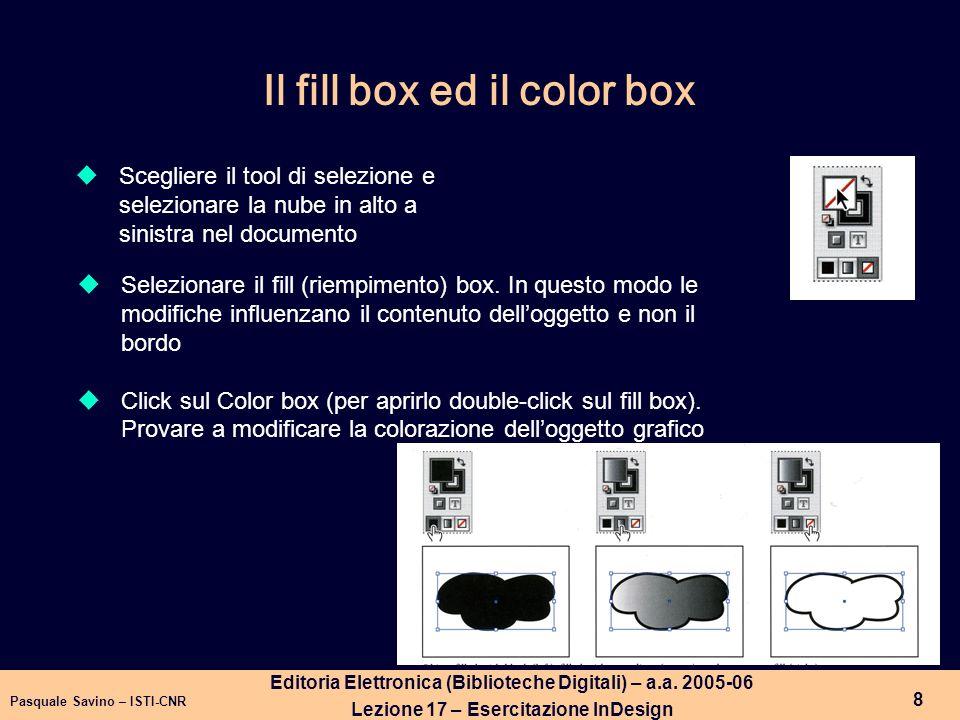 Pasquale Savino – ISTI-CNR 9 Editoria Elettronica (Biblioteche Digitali) – a.a.