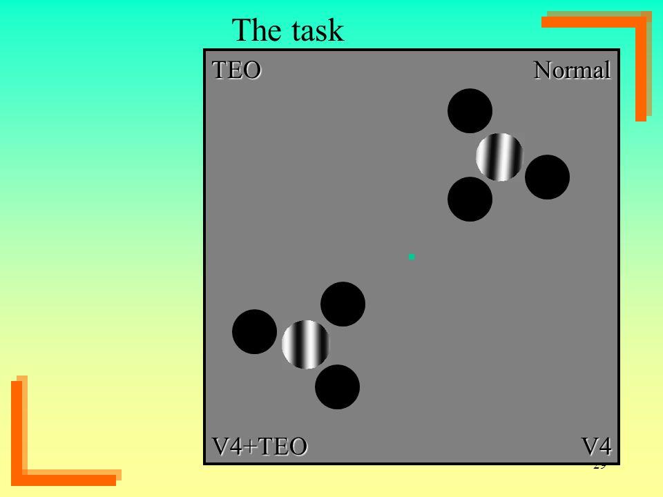 29 The task NormalTEO V4+TEOV4