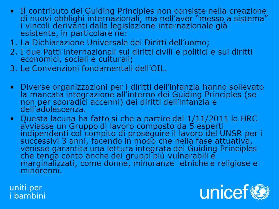 I CHILDRENS RIGHTS & BUSINESS PRINCIPLES (CRBP)