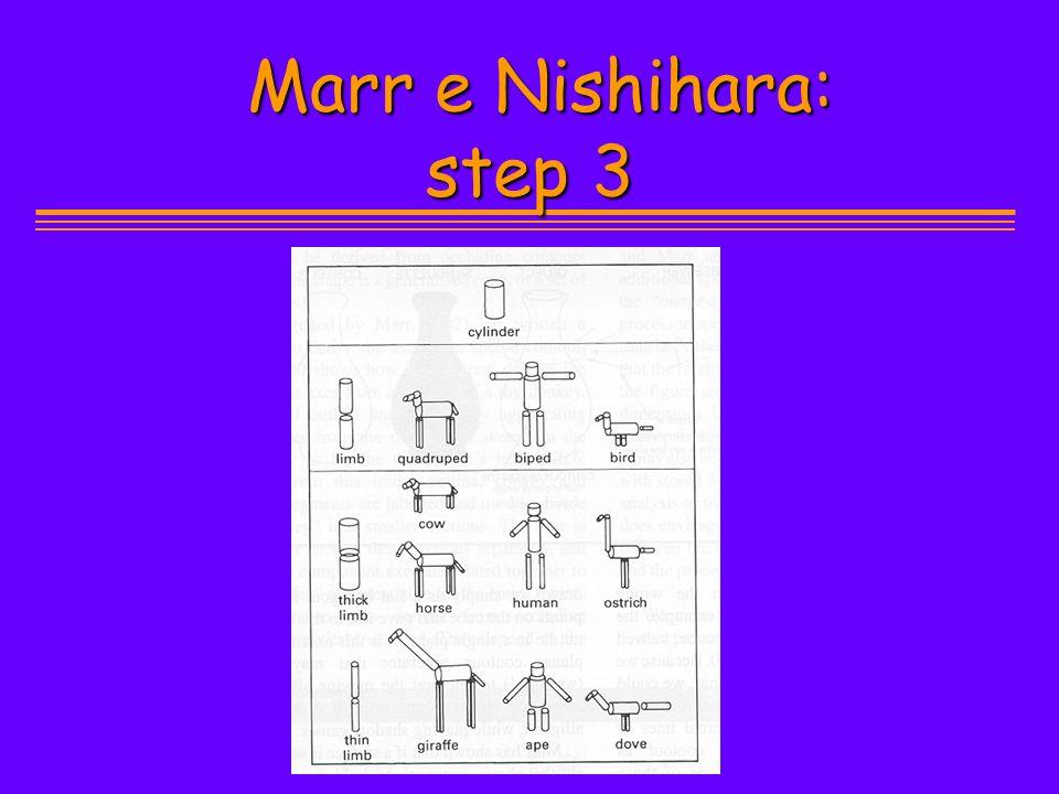 Marr e Nishihara: step 3 Marr e Nishihara: step 3