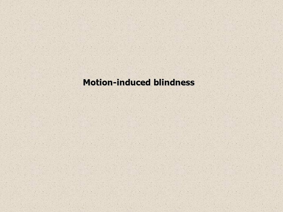 Motion-induced blindness Motion-induced blindness