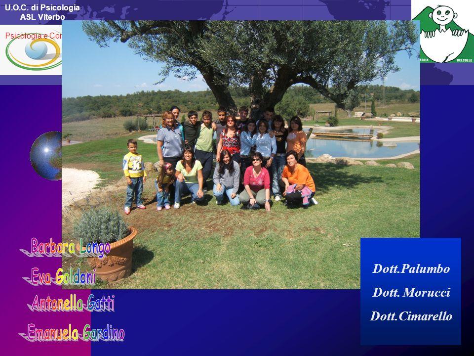 U.O.C. di Psicologia ASL Viterbo Psicologia e Contesti Dott.Palumbo Dott. Morucci Dott.Cimarello