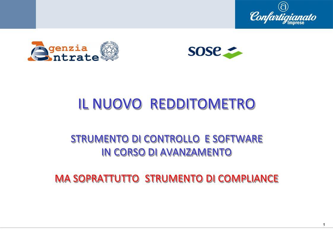 22 PREVISTA LA DIFFUSIONE DEL SOFTWARE DI CALCOLO GIUGNO 2012