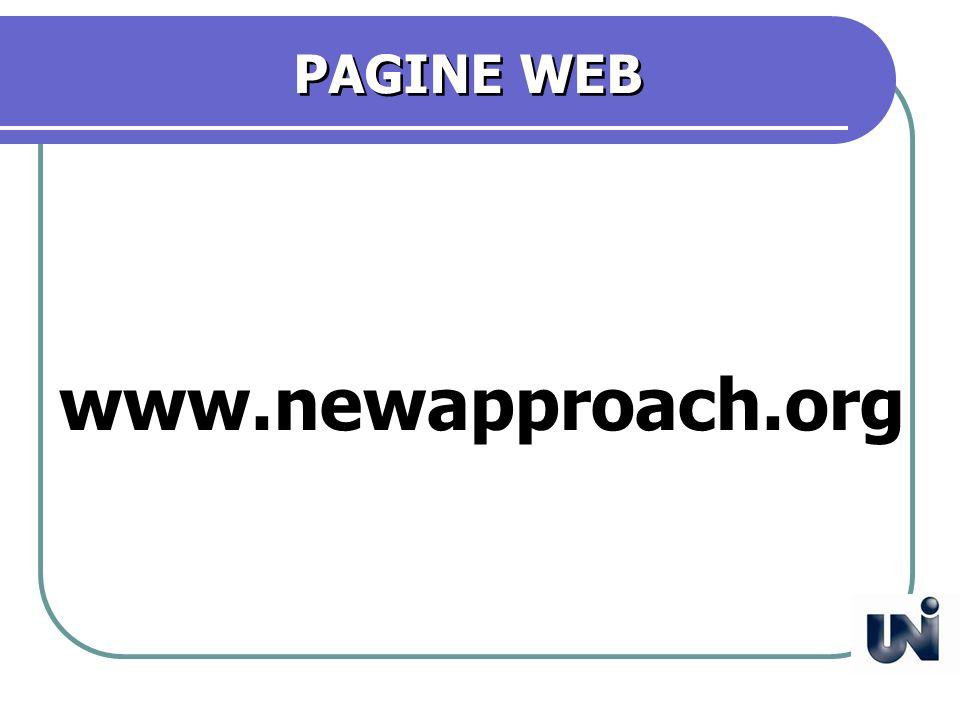 PAGINE WEB www.newapproach.org