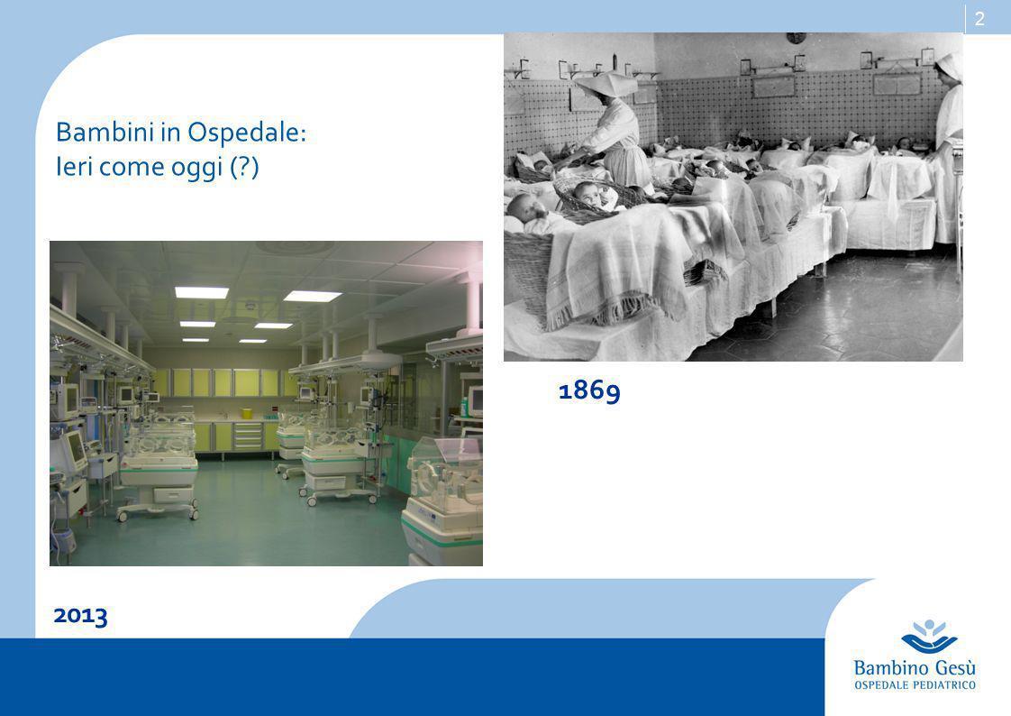 2 2013 1869 Bambini in Ospedale: Ieri come oggi ( )