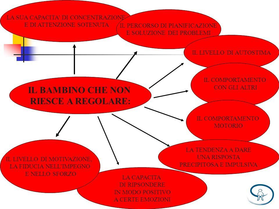 IL BAMBINO CHE NON RIESCE A REGOLARE: LA SUA CAPACITA DI CONCENTRAZIONE E DI ATTENZIONE SOTENUTA IL PERCORSO DI PIANIFICAZIONE E SOLUZIONE DEI PROBLEM