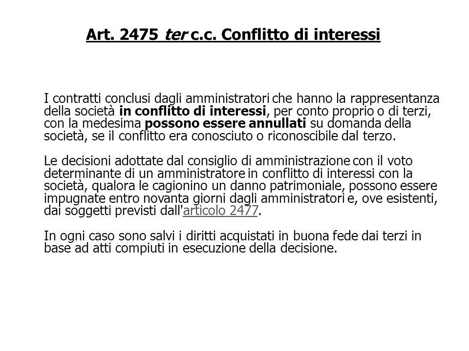 Art. 2409 c.c. Denunzia al Tribunale Se le violazioni denunziate sussistono ovvero se gli accertamenti e le attività compiute ai sensi del terzo comma