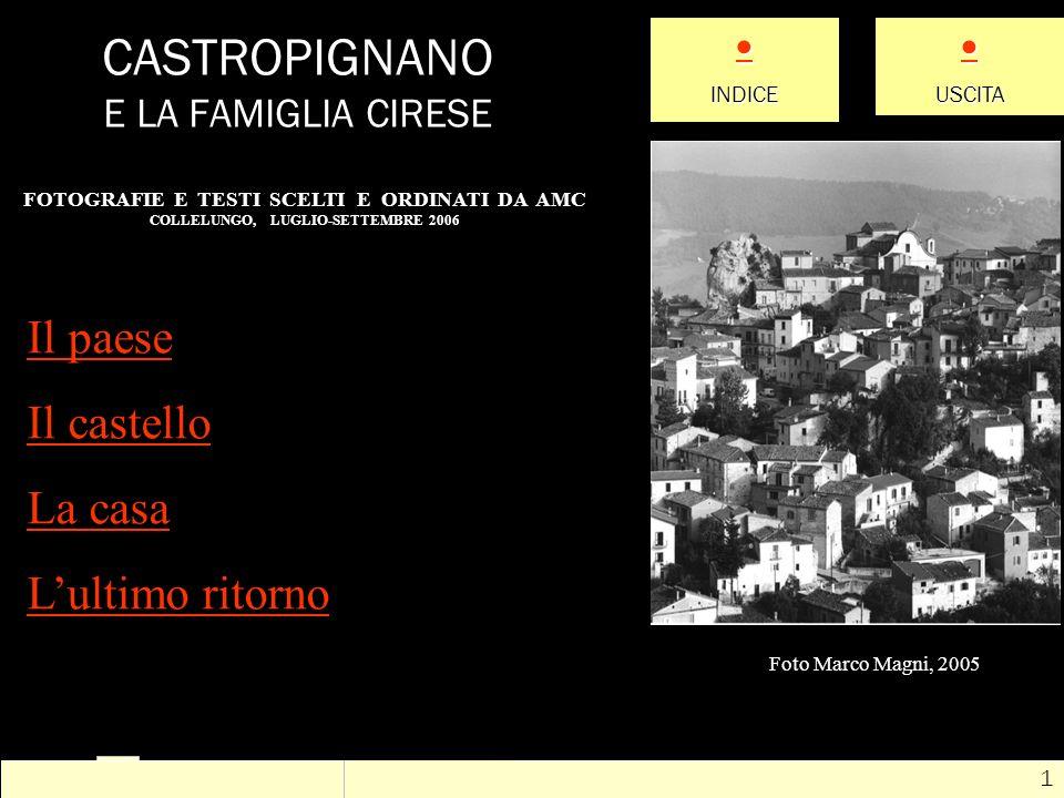 ? # 12 Luigi Cirese e Rosolina Bagnoli nacquero a Fossaceca (antico nome di Fossalto) il 31 agosto e il 28 novembre nel 1856 (era ancora Regno di Napoli: Garibaldi arriverà quattro anni dopo) Luigi CireseRosolina Bagnoli