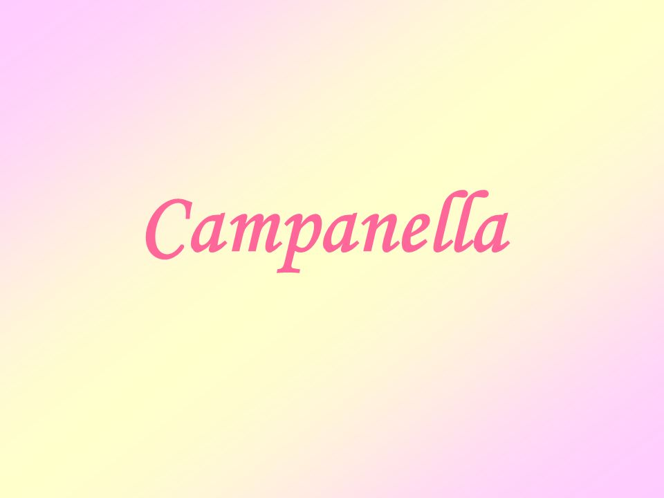 C ampanella