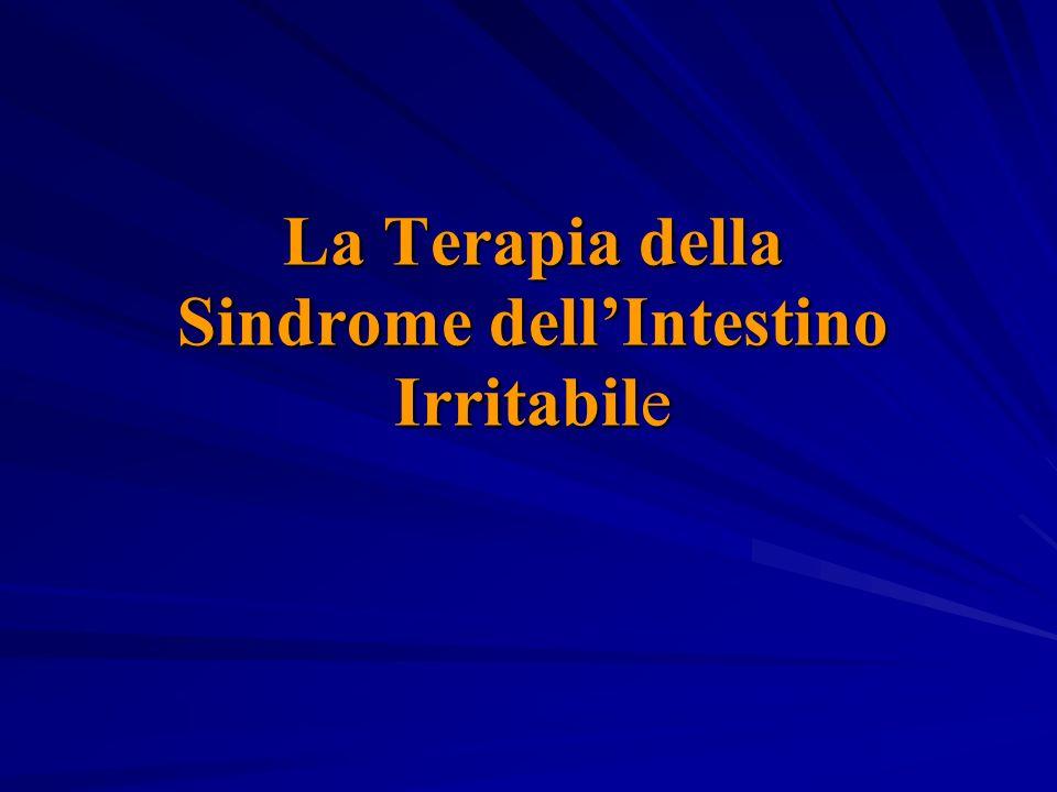 La Terapia della Sindrome dellIntestino Irritabile