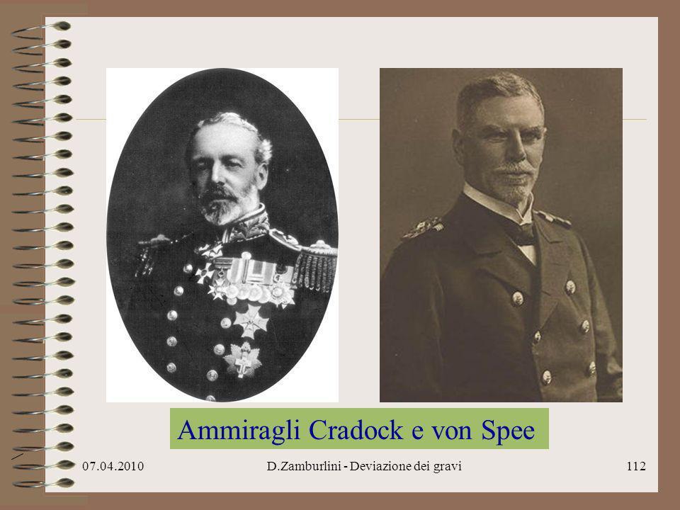 07.04.2010D.Zamburlini - Deviazione dei gravi113 Ammiragli von Spee e Sturdee