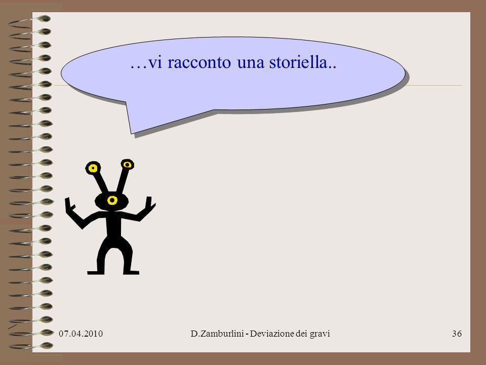07.04.2010D.Zamburlini - Deviazione dei gravi37..