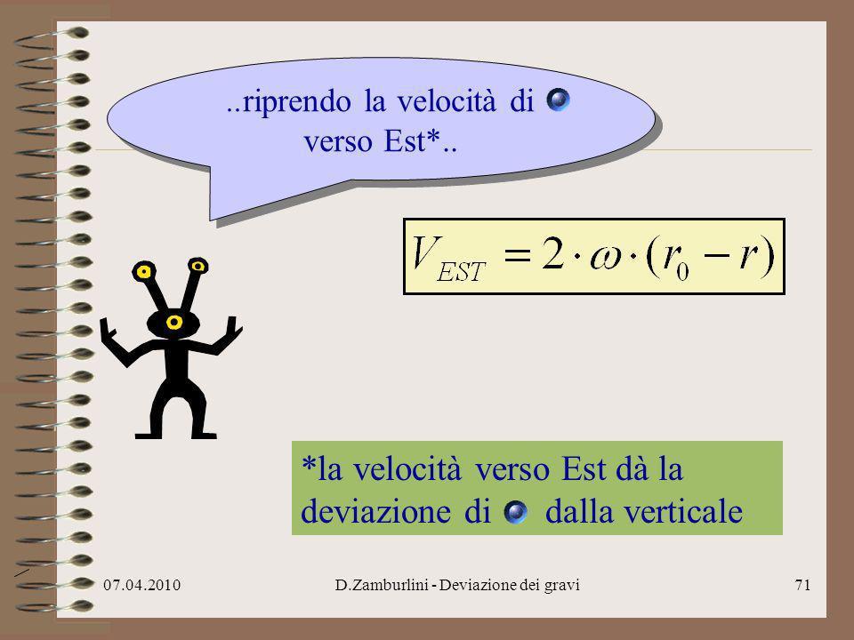 07.04.2010D.Zamburlini - Deviazione dei gravi72.. sostituisco..