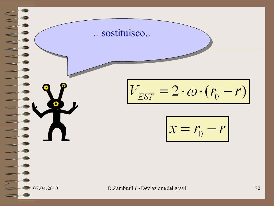 07.04.2010D.Zamburlini - Deviazione dei gravi73.. ottengo..