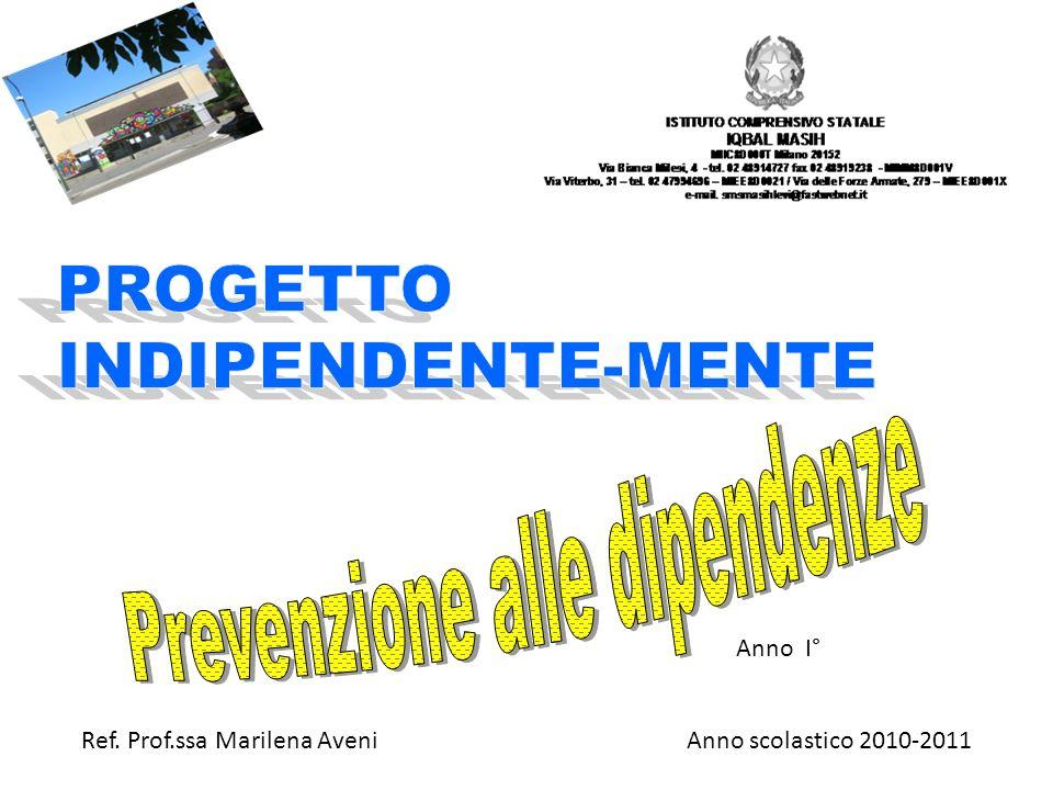 Anno scolastico 2010-2011 Anno I° Ref. Prof.ssa Marilena Aveni