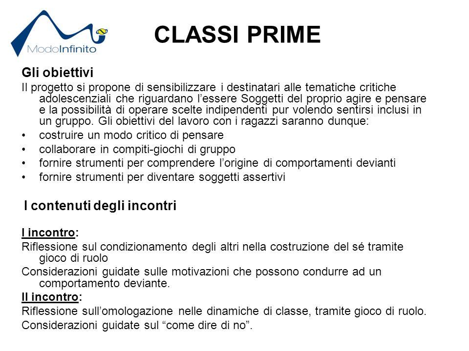 Report classi terze- Docenti