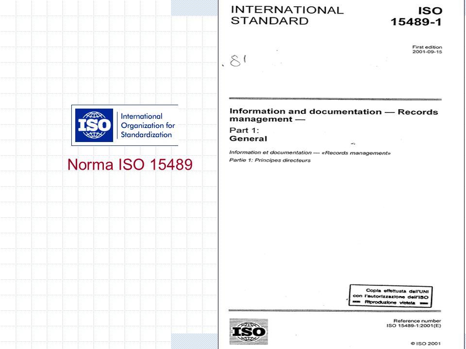 Gianni Penzo Doria Norma ISO 15489