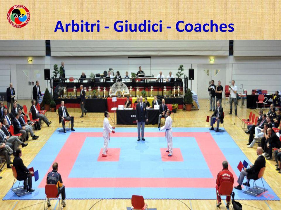 Arbitri - Giudici - Coaches