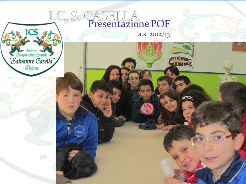 Presentazione POF a.s. 2012/13