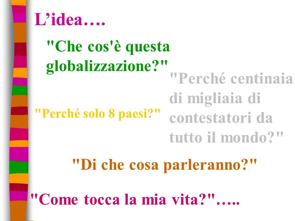 Discussione a ruota libera globalizzazione e ambiente(ITIS Galilei) globalizzazione e fonti energetiche globalizzazione e nuove povertà (G.