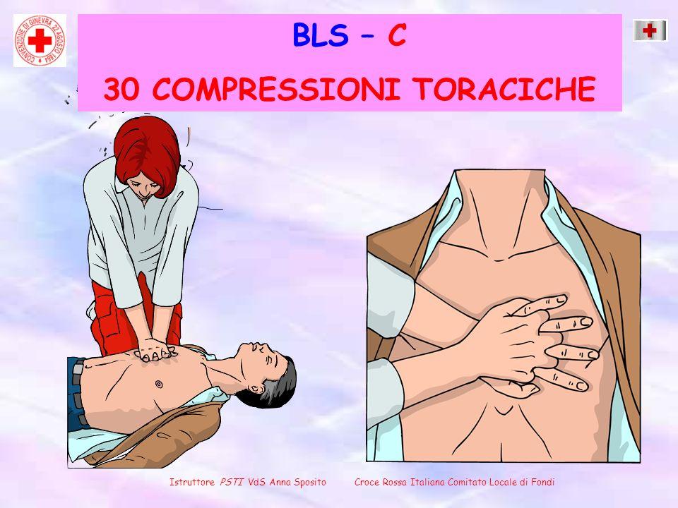 BLS – C 30 COMPRESSIONI TORACICHE