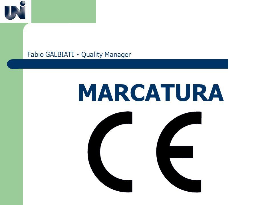 MARCATURA Fabio GALBIATI - Quality Manager