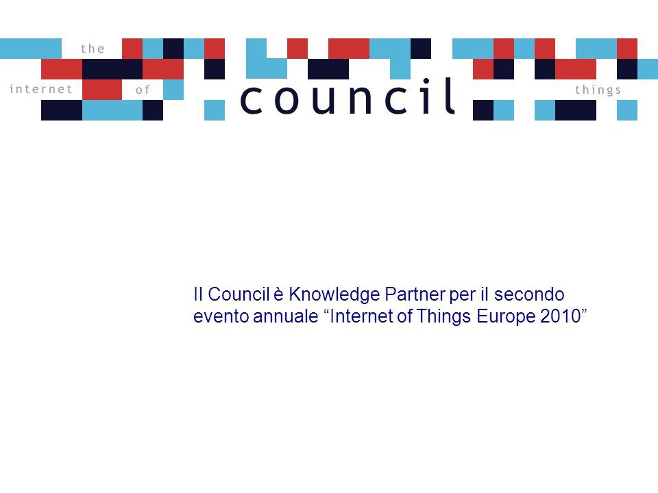 Il Council è Knowledge Partner per il secondo evento annuale Internet of Things Europe 2010