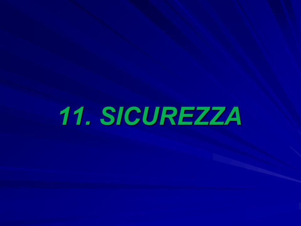 11. SICUREZZA