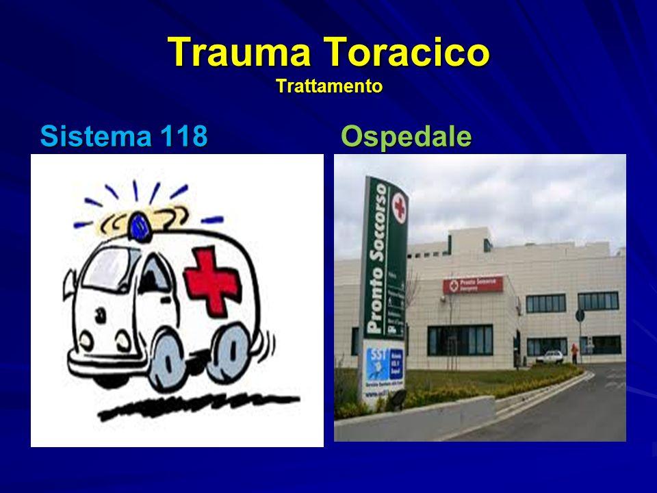 Trauma Toracico Trattamento Sistema 118 Ospedale
