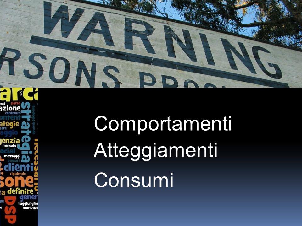 Comportamenti Atteggiamenti Consumi