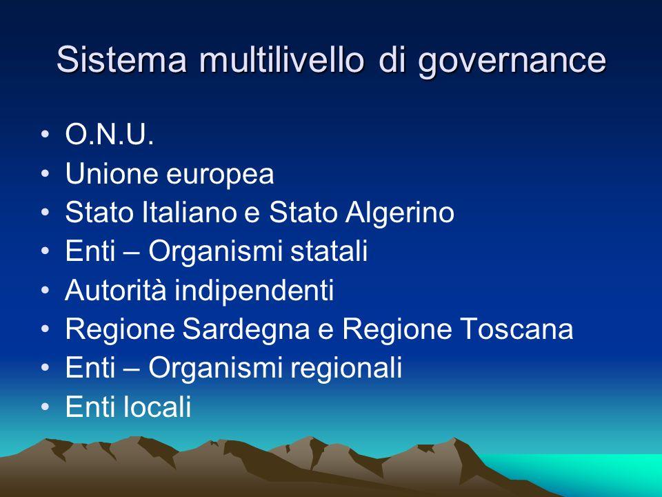 Convenzioni internazionali Convenzione ONU sul diritto del mare (1994) Convenzione quadro delle Nazioni Unite sui cambiamenti climatici (1992) Protocollo attuativo di Kioto (1997) Convenzione europea sul paesaggio di Firenze (2000)