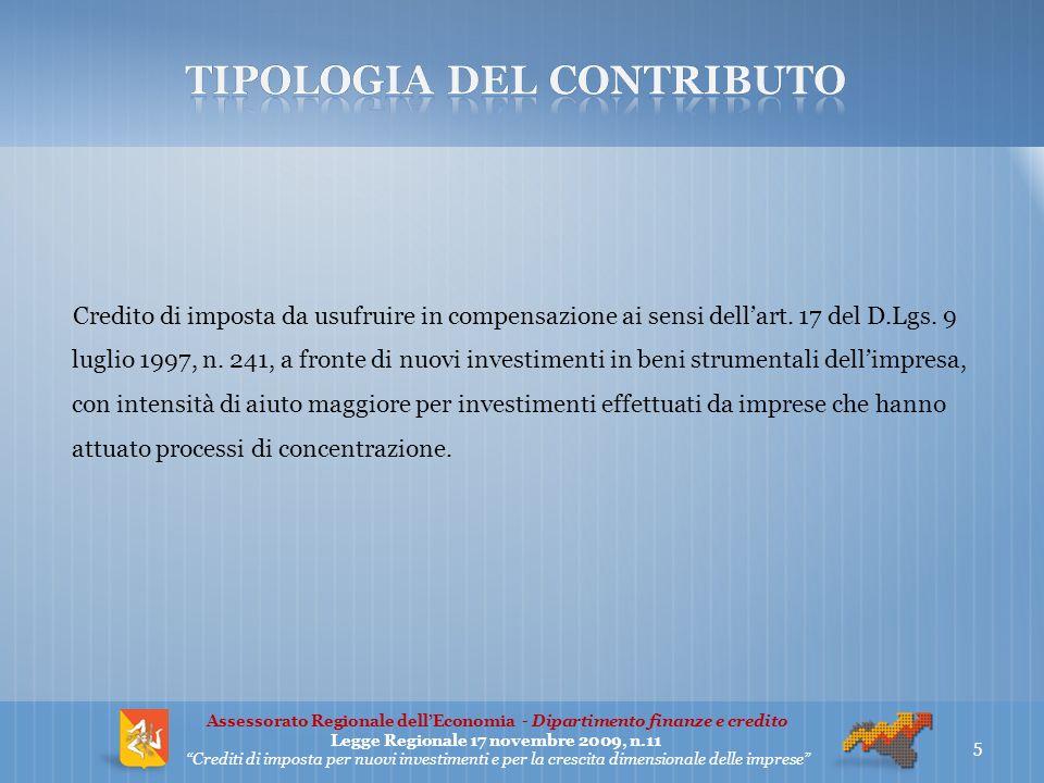 Sono agevolabili nuovi investimenti intesi come beni materiali ed immateriali nuovi di cui agli articoli 102, 102bis e 103 del D.P.R.